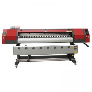 1.8m lebar format dye sublimation printer karo telung dx5 print heads kanggo t-shirt printing WER-EW1902