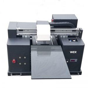 2017 mirah ukuran A4 tablet desktop murah ingkang dipimpin printer digital flatbed WER-E1080UV