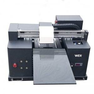 2018 UV nyalur printer flatbed a4 dtg t shirt logo printing machine for sale WER-E1080T