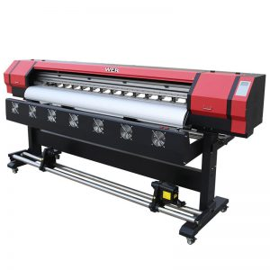 6 kaki Printing Video WER-ES1901 DX5 / DX7 kepala eco solvent printer Di Guangzhou Supplier