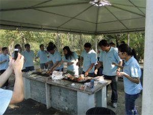 BBQ ing Gucun Park, Autumn 2014