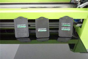 Pemotongan hitam ferrule printing sample dening WER-EP6090UV