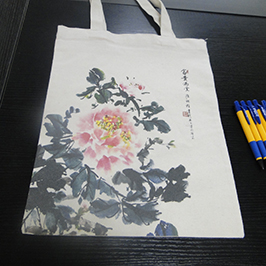 Canvas bag print sample dening printer t-shirt A2 WER-D4880T