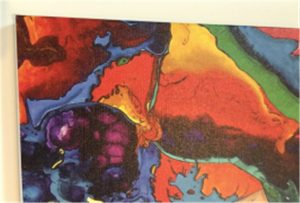 Printing kanvas sampel WER-E2000UV