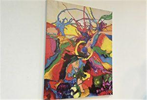 Gambar kanvas dicetak dening ukuran UV ukuran WV-EP6090UV