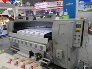 Mesin cetak kulit