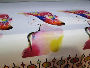 Sampel printing kulit