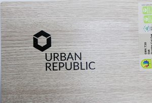 Logo printing on wood materials by WER-D4880UV 2