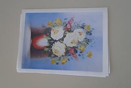 Oil Canvas dicithak kanthi printer eco solvent 2.5m (8 kaki) WER-ES2502