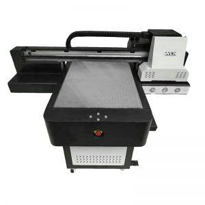 Kasur cilik kualitas tinggi flatbed flat UV printer WER-ED6090UV