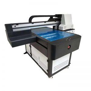 printer flatbed UV dhuwur kanthi lampu UV 6090 nyithak ukuran print WER-ED6090UV